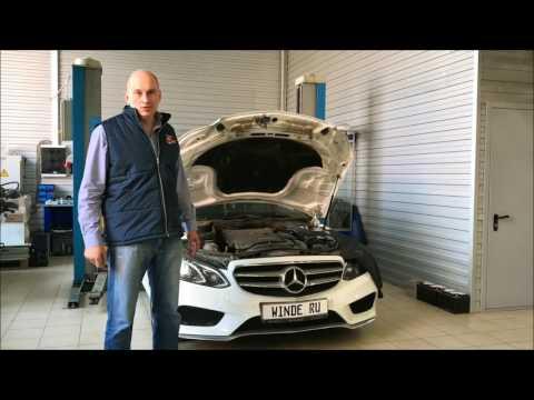 Программное увеличение мощности Mercedes E200 W212 рейсталинг от WINDE.RU