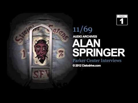 Al Springer LAPD Parker Center Interviews, November, 1969 - Tape One