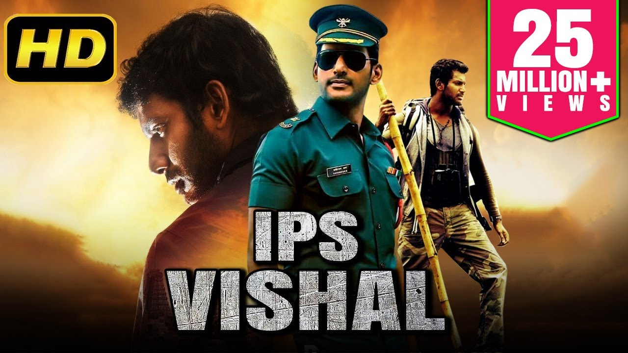 Download IPS Vishal (2019) Tamil Hindi Dubbed Full Movie | Vishal, Kajal Aggarwal, Soori