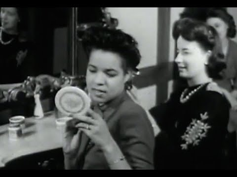 1940 S Hairstyles Black Women On Film 1944 Youtube