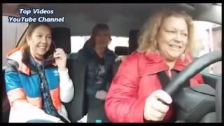 Приколы с ДПС и полиции) забавные водители) женщина за рулем /with police joke