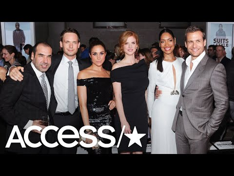 Meghan Markle's 'Suits' Co-Stars Arrive In England For The Royal Wedding!