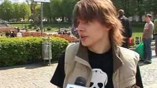 Flash Mob Бій Подушками, Чернівці. Репортаж на ТВА