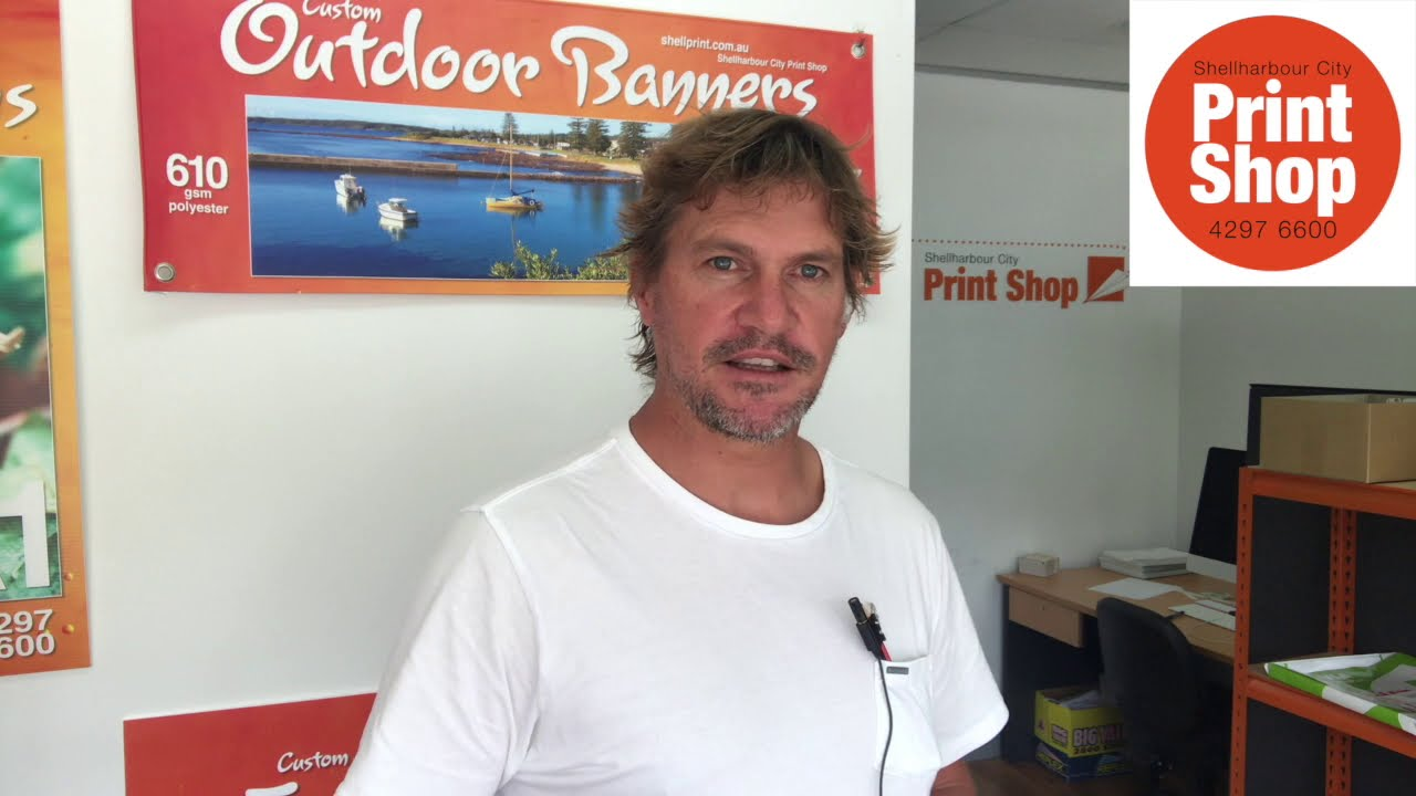 Stickers and Labels ~ Shellharbour City Print Shop