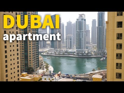 Living in Dubai - DUBAI APARTMENT TOUR | UAE Accommodation for $106 Per Night!