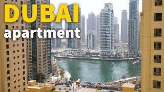 Living in Dubai - DUBAI APARTMENT TOUR | UAE Accommodation for $106 Per Night! thumbnail
