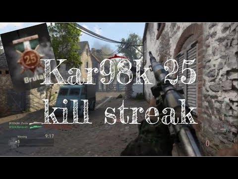 Kar98k 25 KILL STREAK #R3D (SAINT MARIE DU MONT) Powered by @JerkyXP