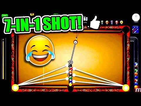 Thumbnail: 7 BALLS IN 1 SHOT! | The Best Trickshot in 8 Ball Pool History? - 1 Shot Win!