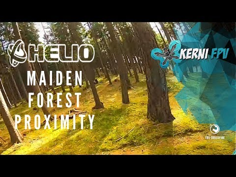 FPV Proximity flying   Stay Alive Forest   Helio FC Maiden
