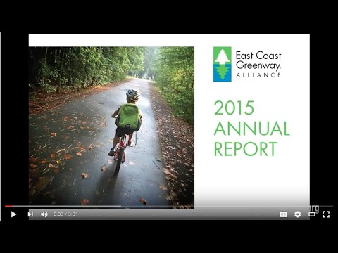 The East Coast Greenway - 2015 Highlights!