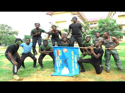 One of the best school c@det in Kumasi on physical training