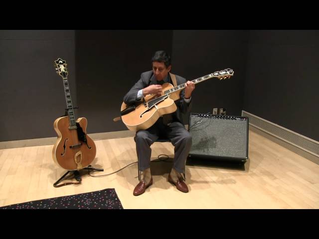 James Chirillo on Set Up and Comping Technique for Classic Jazz Guitar