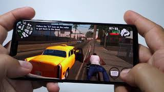 Grand Theft Auto: San Andreas - ONEPLUS 6 gameplay max settings