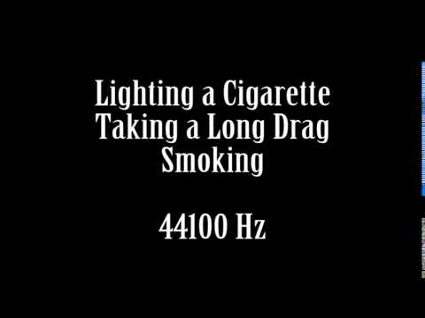 Lighting a Cigarette Taking Long Drag Puffing on Cigarette Sound Effect Free High Quality Sound FX