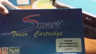 ตลับหมึกเลเซอร์ Smart Toner Tn-1000 ใช้กับปริ้นท์เตอร์ brother HL-1110, DCP-1510, MFC-1810/1815