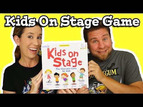 Színpadra fel! - Kids on Stage! társasjáték