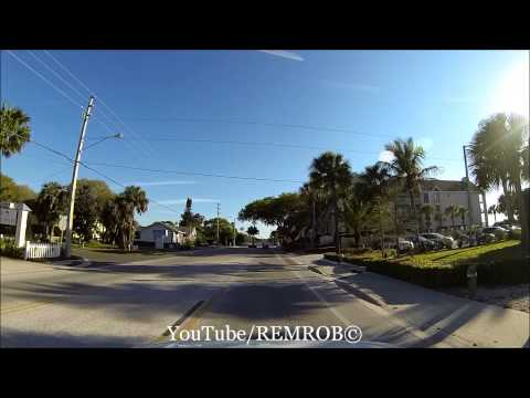 Driving Indian Rocks Beach, Florida