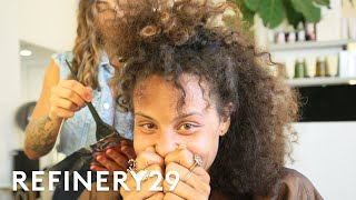 I Dyed My Curly Hair Copper For The First Time   Hair Me Out   Refinery29