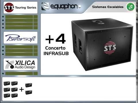 STS Touring Series: V5- V20 Escalabilidad de sistema