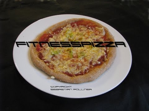 fitnesspizza pizza aus vollkornmehl youtube. Black Bedroom Furniture Sets. Home Design Ideas