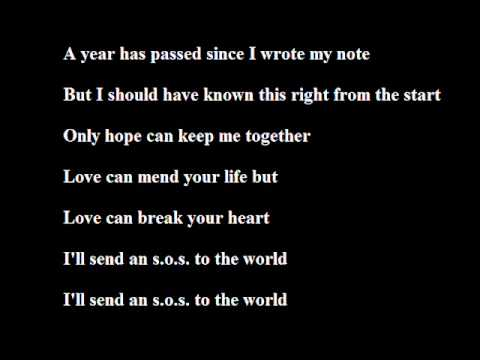 John Mayer - Message In A Bottle (Acoustic) With Lyrics