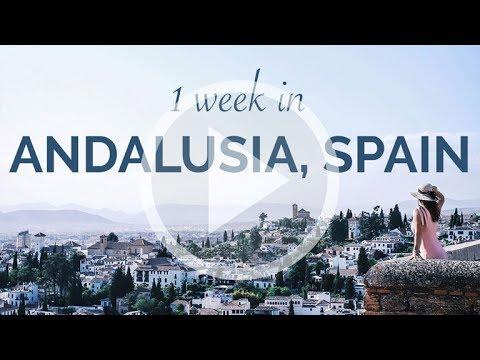 1 Week in Andalusia, Spain