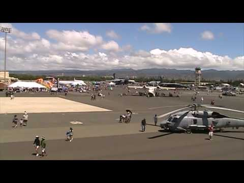 Wings Over the Pacific Hickam Air Force Base Open House - Overview of Displays