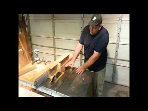 SIMPLE JIG! Turns Table Saw into a jointer! Flatten Stock!!!