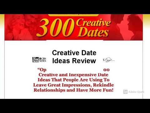 Creative Date Ideas Review | Is Creative Date Ideas Good?
