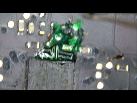 Macbook liquid spill - 820-2879 not charging logic board repair