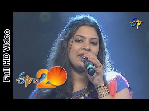 Geethamadhuri  Performance - Bavalu Sayya Song in Eluru ETV @ 20 Celebrations