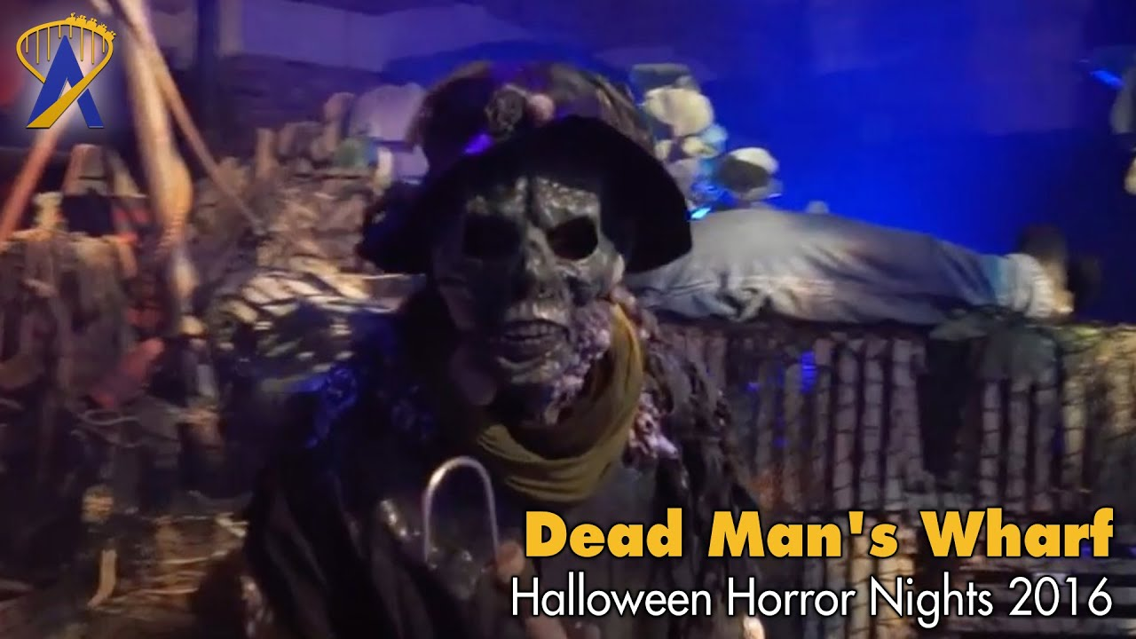 dead mans wharf scare zone for halloween horror nights 2016 at universal orlando
