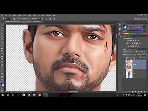 digital painting tutorial photoshop in tamil | RR Atoz tamil|