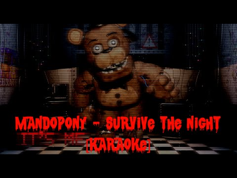 Mandopony - Survive the night [Karaoke]