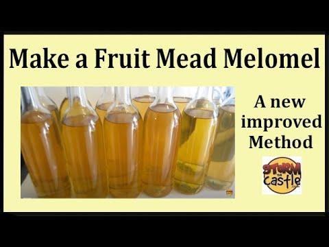 Make Fruit Mead Melomel