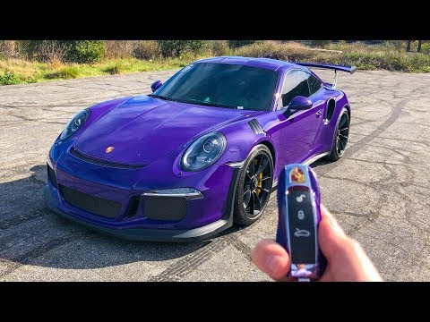 WHAT ITS LIKE TO DRIVE A PORSCHE GT3RS! (POV)