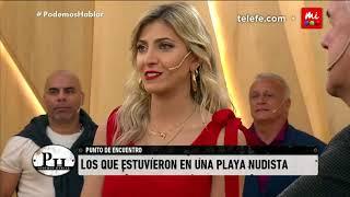 Cande Ruggeri: una divertida anécdota en una playa nudista - PH Podemos Hablar
