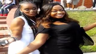 Toya Wright Celebrating Her Brothers Lives With Friends & Family During Funeral (RIP Rudy & Josh)