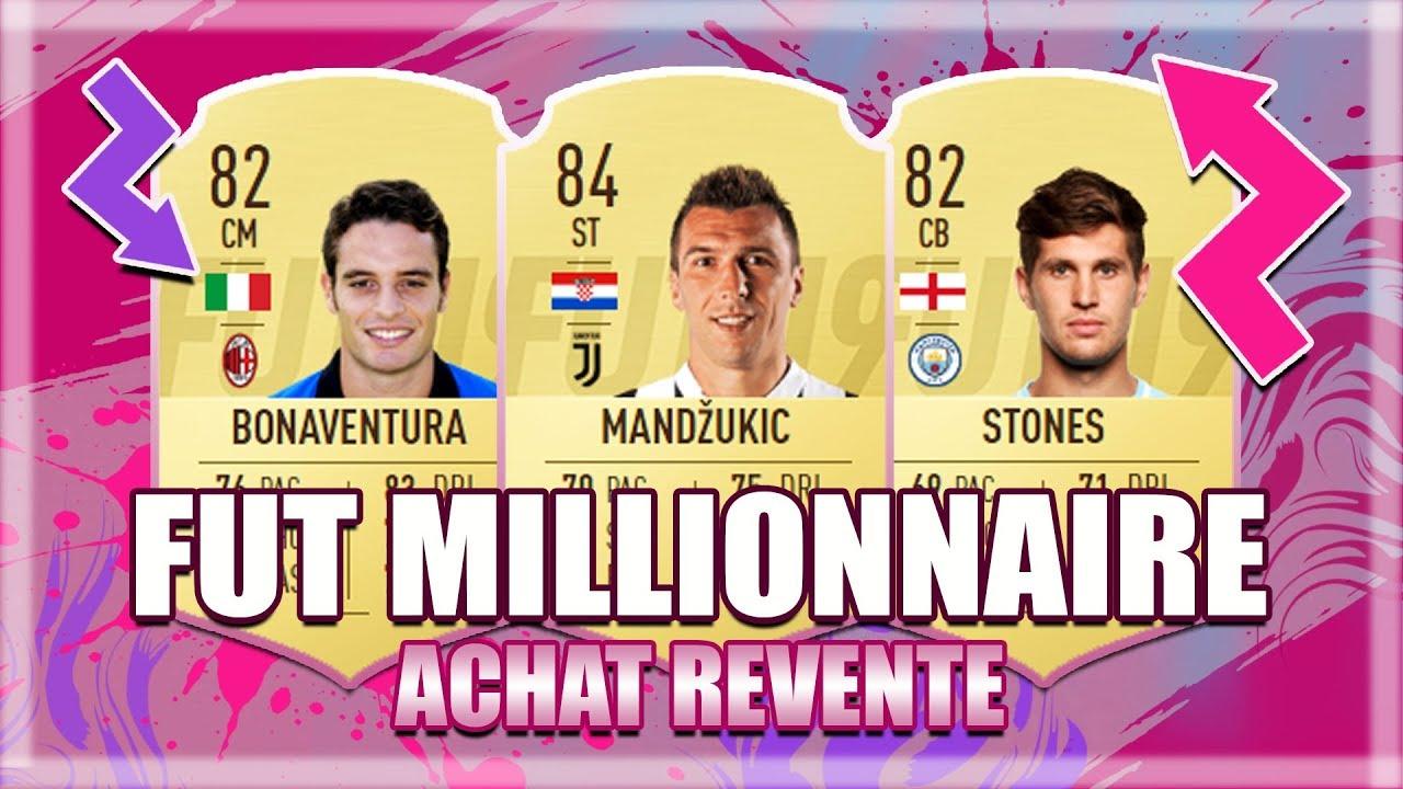 FIFA 19   ACHAT REVENTE : EXPLICATIONS DE LA TECH FUT MILLIONNAIRE POUR DEVENIR RICHE !