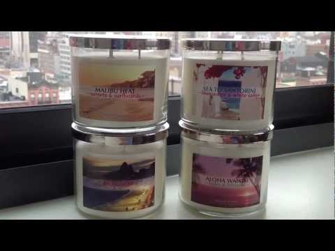 Bath & Body Works 'Around The Globe: Take Two' Spring 2013 Test Collection Review