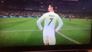 fifa 17 playerfaces real madrid vs barcelona featuring messi ronaldo bale benzema suarez and neymar