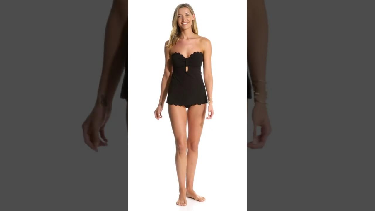 f590c1ce277 Jessica Simpson Swimwear Under The Sea Retro One Piece Swimsuit ...