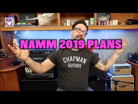 Chapman Guitars NAMM Show 2019 Plans