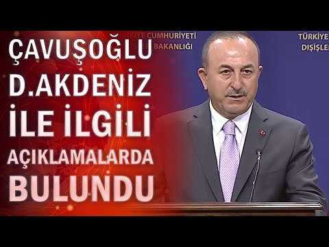 Son dakika: Akdeniz'de Yunanistan'la gerilim! Bakan Çavuşoğlu'ndan flaş açıklamalar
