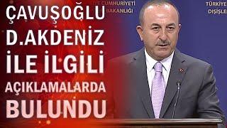 Son dakika Akdenizde Yunanistanla gerilim Bakan Çavuşoğlundan flaş açıklamalar