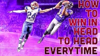 HOW TO WIN EVERY HEAD TO HEAD GAME MADDEN MOBILE