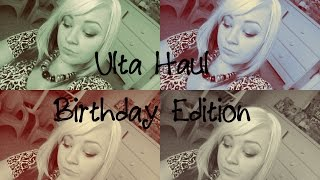 ulta haul | birthday edition Thumbnail