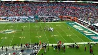 Dolphins vs Patriots! Interception FTW!! 12/15/2013