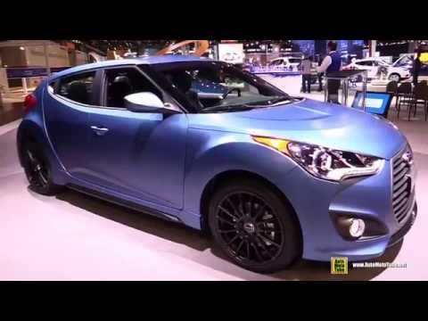 2016 Hyundai Veloster Rally Edition Exterior and Interior Walkaround 2015 Chicago Auto Show