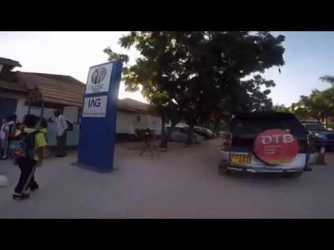 Coys ride to school, Dar Es Salaam